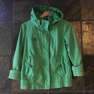 Vero Moda Gardena Short Jacket in Light Green